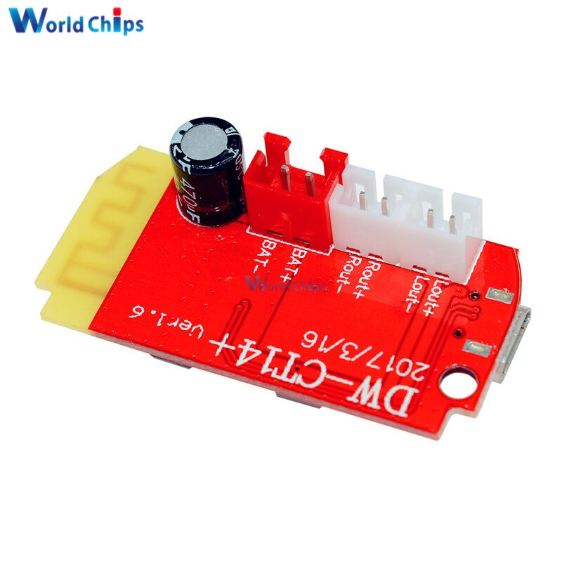 5pcs Dc 3 7v 5v 3w Digital Audio Amplifier Board Dual Plate Diy Kit Bluetooth Speaker Modification Sound Music Module Micro Usb Integrated Circuits Aliexpress