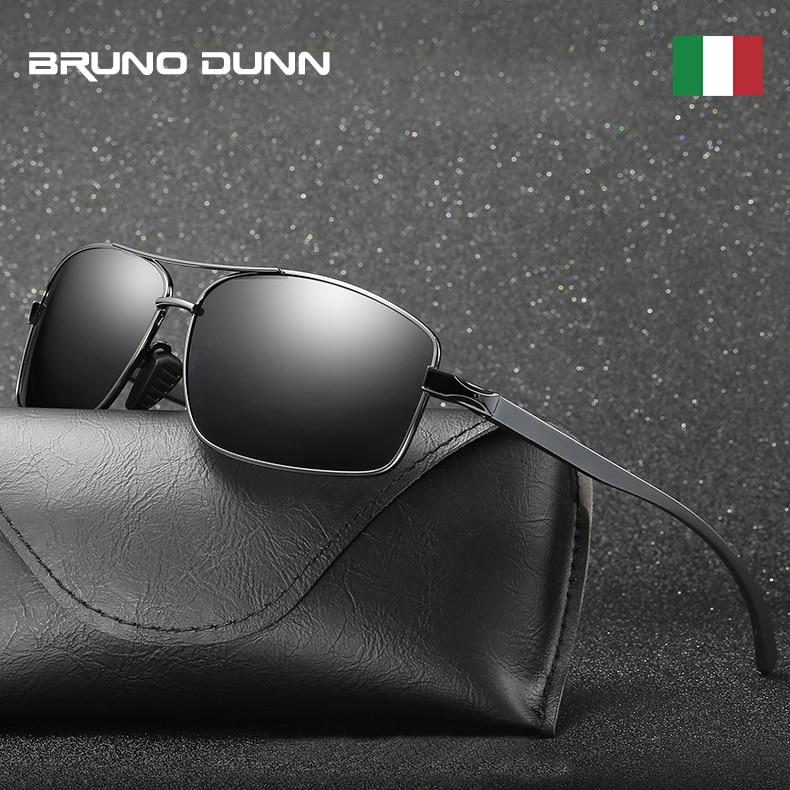 De aluminio 2019, diseñador de marca, Polarizerd gafas De Sol hombres conducción deportiva, gafas de Sol para hombres Sol gafas lunette De soleil homme