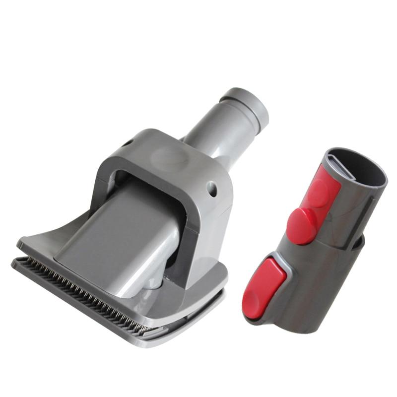 New dog brush tool for Dyson V7 V8 V10 fluffy V10 absolute animal groom, hypoallergenic, vacuum cleaner
