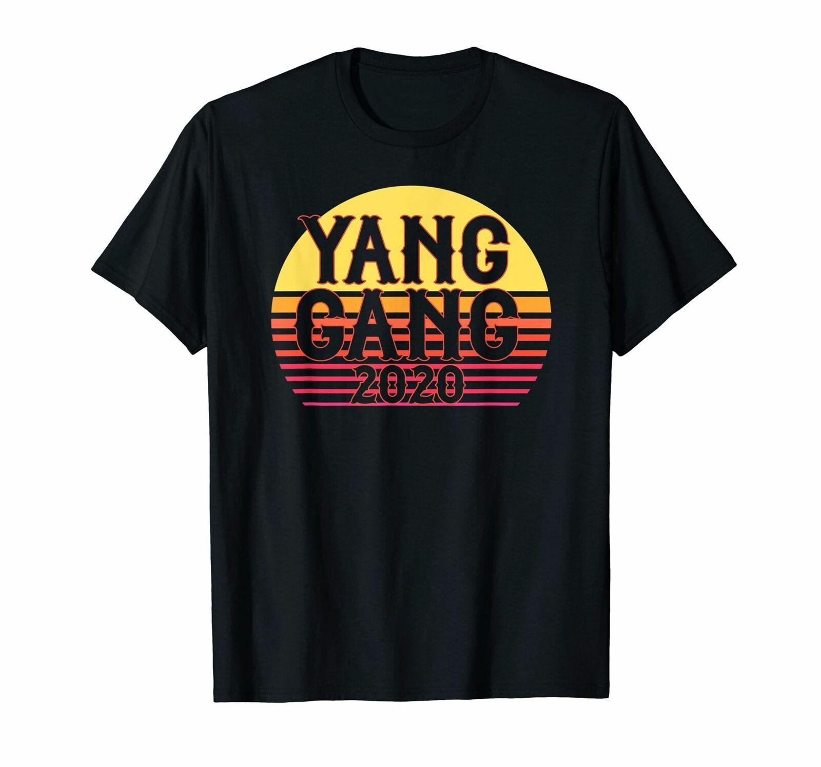 Camiseta de Yang Gang 2020, camisetas gráficas UBI para hombres, para presidente de EE. UU.