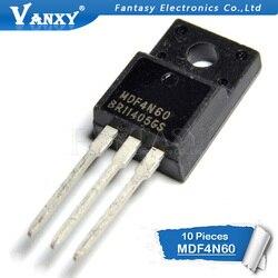 10 шт. MDF4N60 TO-220F 4N60 TO220F TO220 600V 4A новый оригинальный