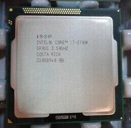 Процессор Intel Core i7 2700K I7 2700K i7-2700K 3,5 ГГц/четырехъядерный/LGA 1155 процессор SR0DG