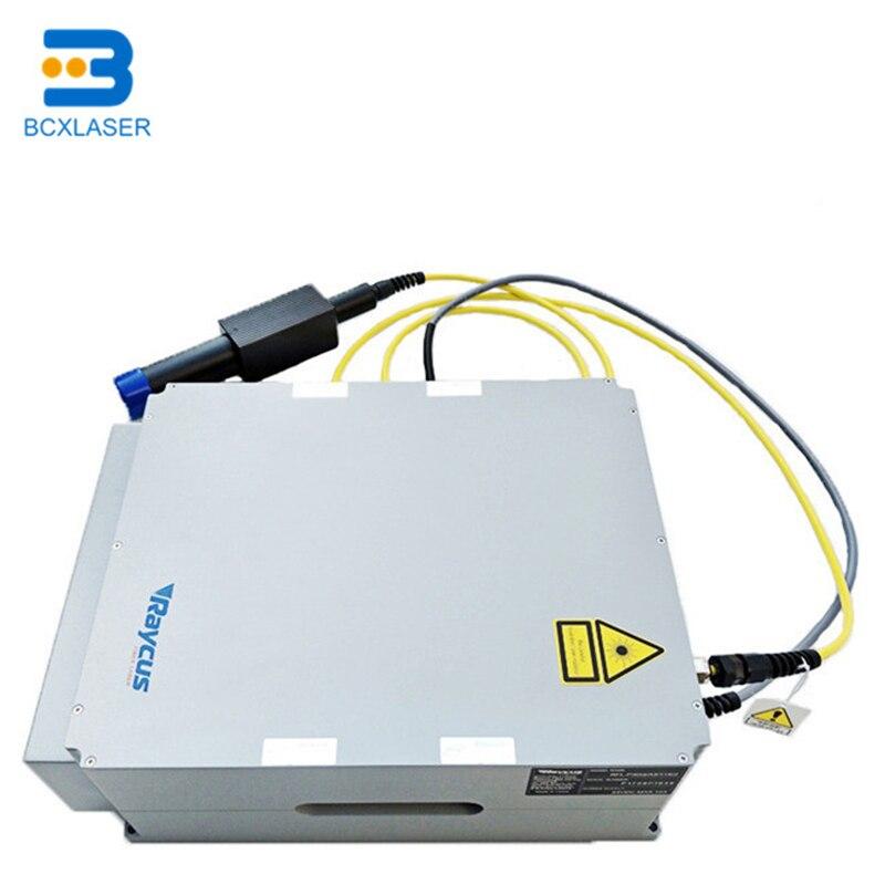 Raycus único módulo cw fibra laser fonte 20w 30 50 100 300 1000w