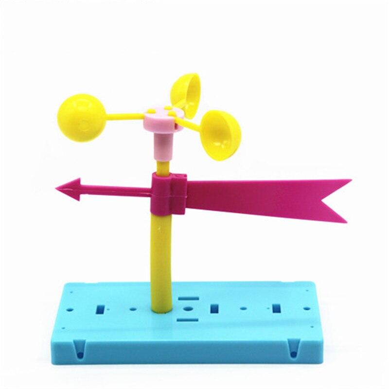 Новейший Забавный физический эксперимент домашний ветряной лопасти DIY материалы домашний школьный образовательный набор для ваших детей подарки для студентов