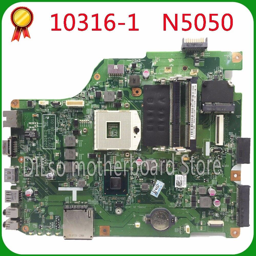 Материнская плата KEFU 10316-1 для Dell n5050, материнская плата для ноутбука 10316-1 DV15 HR 48.4IP16.011, Встроенная Материнская плата HM67, оригинальный тест 100%