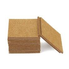 20 pièces carré multifonction coussin de meubles feutre feuilles auto-adhésif pieds Table canapé pieds plancher antidérapant tapis collant bois protecteur