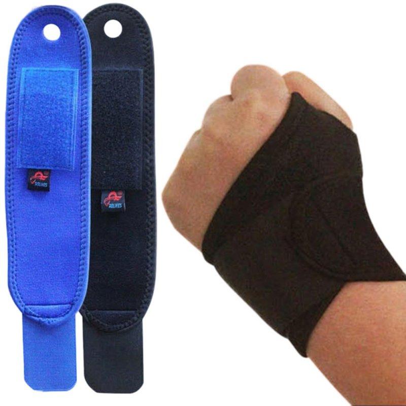 1 PC Breathable Wrist Support Strap Outdoor Sports Carpal Brace Arthritis Sprain Protector Wristband