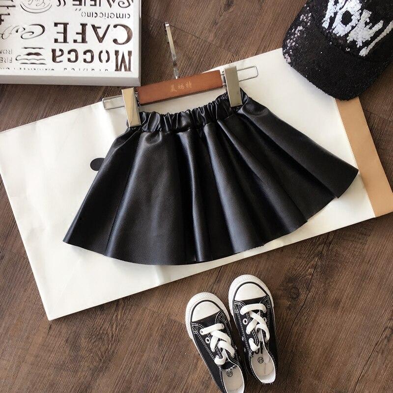 2020 nuovo autunno della molla Delle Ragazze Dei Bambini di cuoio DELL'UNITÀ di elaborazione del pannello esterno comodo cute del bambino Vestiti Abbigliamento Per Bambini
