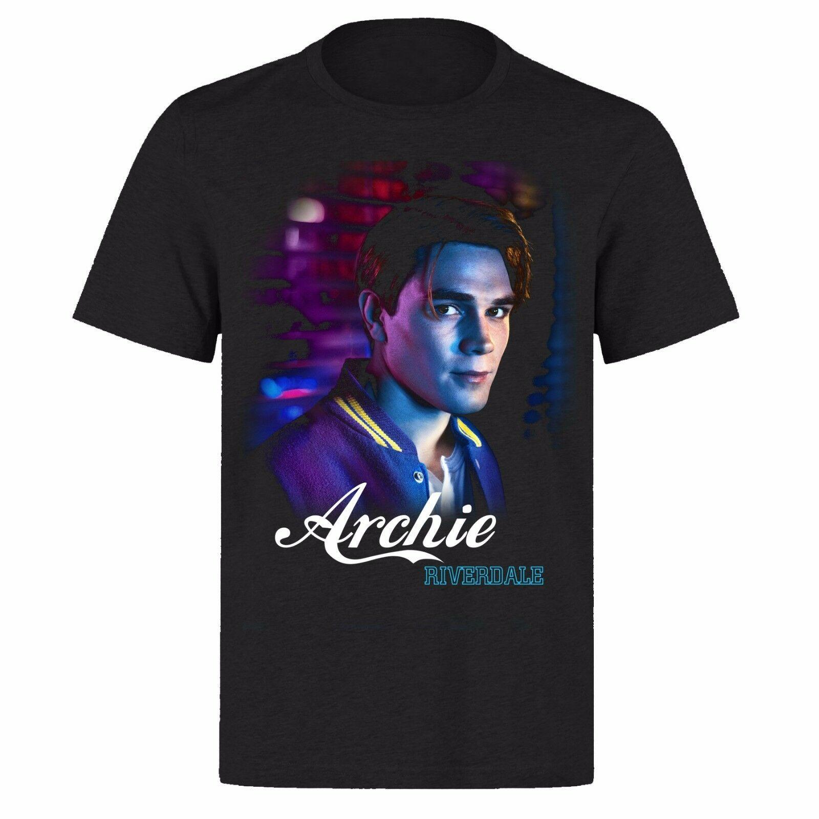 ARCHIE ANDREWS RIVERDALE K.J APA PH156 NETFLIX camiseta negra UNISEX