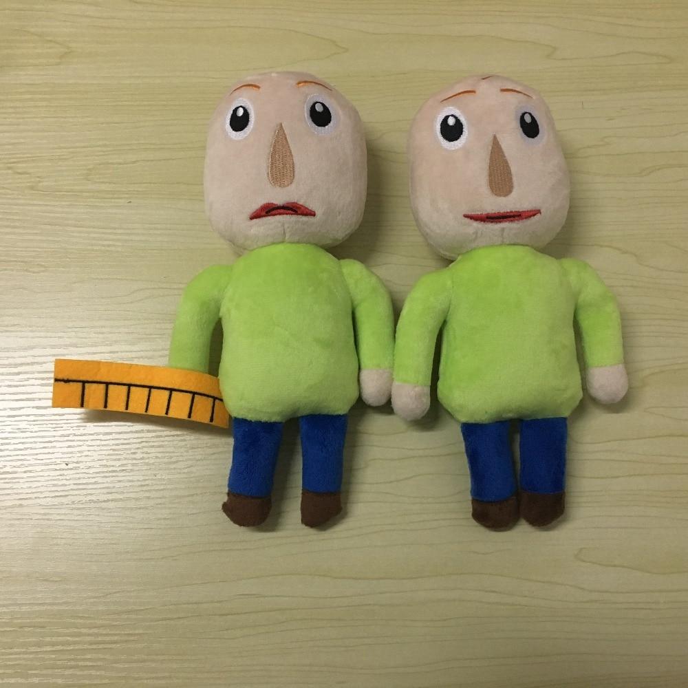 25cm noções básicas de baldi macias em educação e aprendizagem brinquedos de pelúcia baldi recheado boneca presentes para crianças