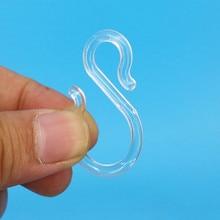 Crochets en plastique de cheville de cintre de PC S pour accrocher des choses ou des produits Match Rail de glissière dans le plafond de magasin de détail 200 pièces bonne qualité