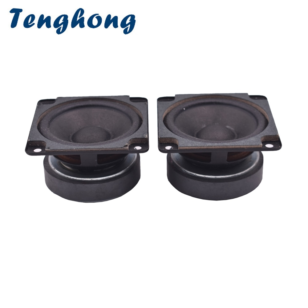 ghxamp 3 inch 3ohm 20w for woofer full range midrange speaker low frequency paper pots neodymium voice coil large stroke Tenghong 2pcs 2.75 Inch Full Range Speaker 4Ohm 8Ohm 10W Woofer Midrange Bass Advertising Machine Speakers Midrange Loudspeaker