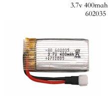 3.7 V 400 mah Original pour h107 H31 pièces de rechange batterie dorigine H31-011 batterie Lipo 3.7 V 400 mah pour H31 XH plug 30C 1 pièces/lot
