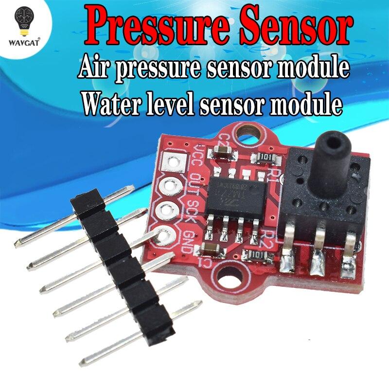 Módulo con sensor de presión barométrica de 3,3 V-5 V, controlador de nivel de agua líquida, tablero 0-40KPa para Arduino DIY