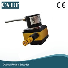 CALT 1000mm 0 à 5 v/0 à 5 K ohm sortie analogique câble de traction capteur de câble à ressort capteur de câble