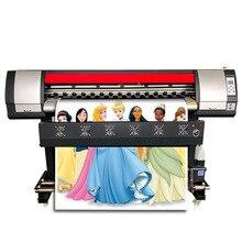 Impresora Eco solvente 160Cm con Xp600 la cabeza de rollo a rollo de pancarta flexible para exterior de impresora de inyección de tinta de Color Cmyk Plotter de disolvente