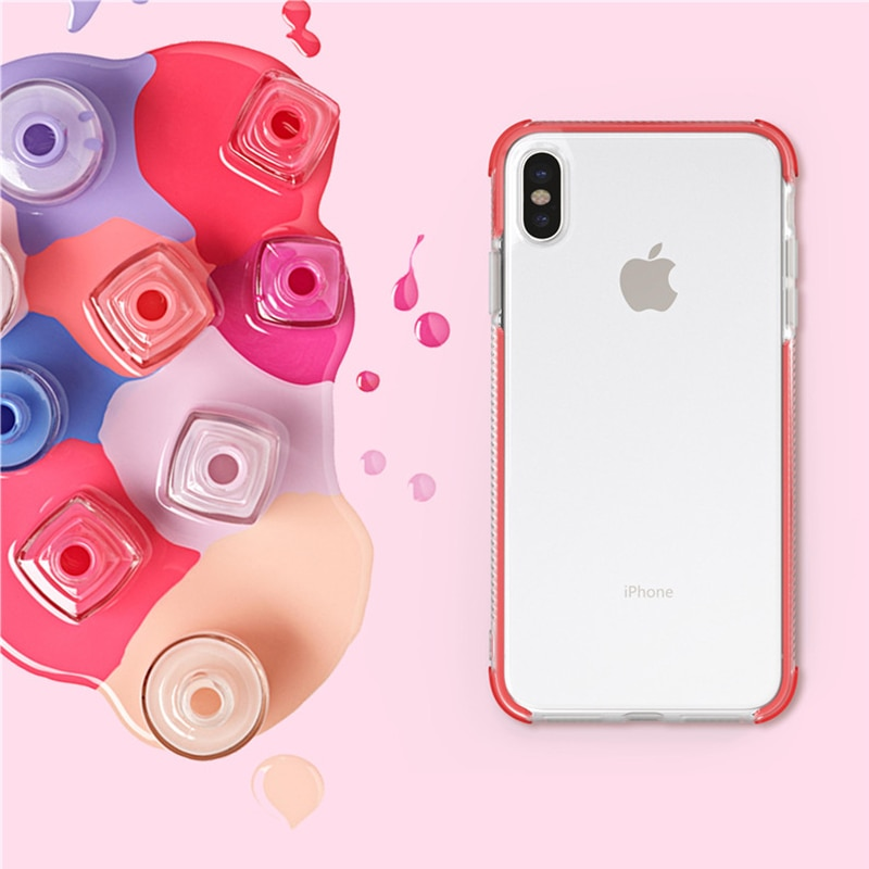 Colorful Soft Clear Case for Samsung Galaxy A6 Plus 2018 A9 star lite Silicone Case for Samsung S8 S