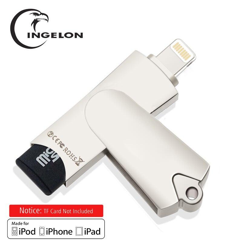 Cartão de 8gb ou 16gb tf para o leitor de cartão do mac do pc do iphone 6/7/8 ipad