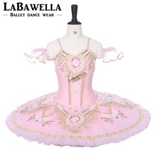 Ballerina Performance Tutu Professional Ballet Tutu Sugar Plum Pink Gold Women Girl Stage ballet TutuBT8955A