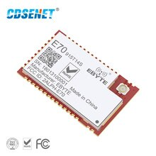 CC1310 915 mhz Dual Core Mikrocontroller rf Transceiver CDSENET E70-915T14S SMD 14dBm PEX Antenne 915 mhz Sender Empfänger
