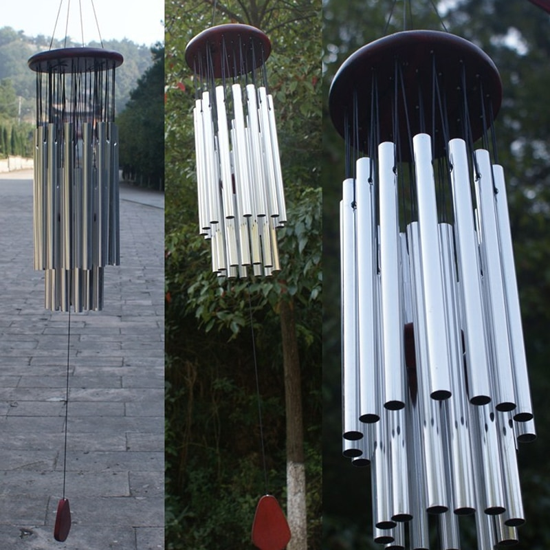 AliExpress - 1* Wind chime Metal Tube Wind Chimes Church Bells Copper For Outdoor Garden Home Decor WindChimes