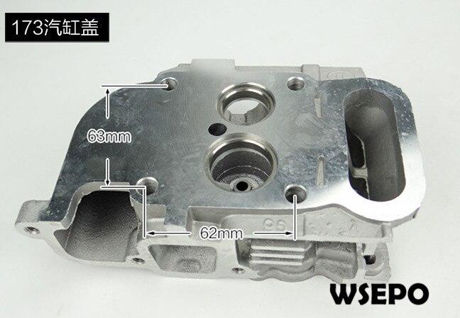 qualidade do oem cabeca de cilindro comp para 173f 5hp 4 tempos unico cilindro refrigerado