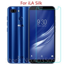 9H 2.5D For iLA Silk Tempered Glass Protective Glass Film Explosion-proof For iLA Silk Screen Protec