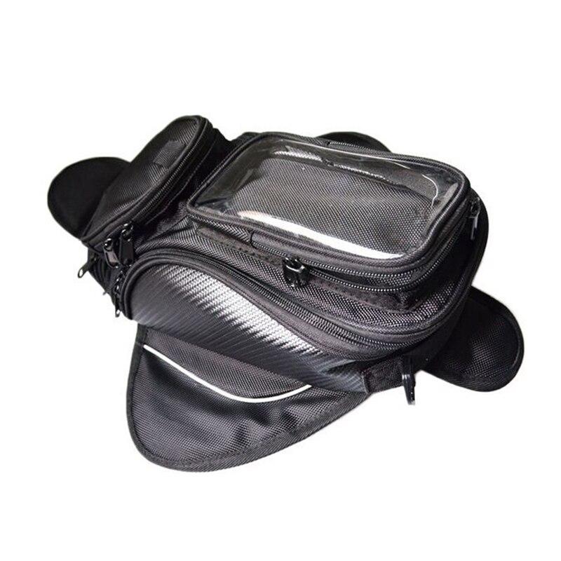 Сумка на бак мотоцикла, масляный магнит для сумки, мотобайкер, Оксфорд, водонепроницаемый, GPS