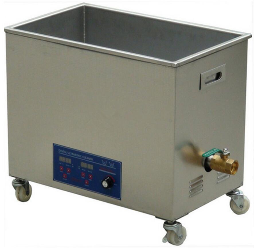 38L مختبر استخدام بالموجات فوق الصوتية الأنظف آلة تنظيف أجزاء أداة رقمية