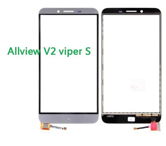 جديد شاشة تعمل باللمس كامل ل Allview V2 الأفعى S لا شاشة الكريستال السائل قطع غيار محول رقمي مع أدوات