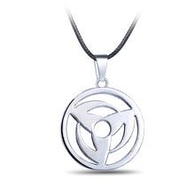 Anime Jewelry Naruto Necklaces Pendant Uchiha Obito Kakashi Mangekyou Sharingan Necklace Choker Necklaces Men Women Gift
