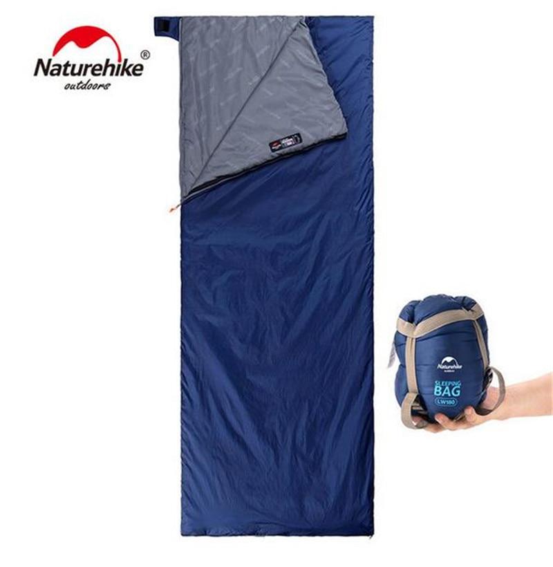 NatureHike 205*85cm Outdoor Ultralight Envelope Sleeping Bag Ultra-small Size For Camping Hiking Climbing 3 Seasons