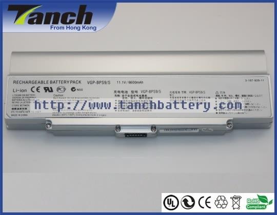 Baterías para portátil SONY VGP-BPS9/B/VGP-BPS9A VGP-BPS10 VAIO VGN-NR320 VGN-NR110 VGN-CR220E VGN-NR240 11,1 V 9 celular