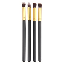 4pcs/set Blending Eye Shadow Eyeshadow Brushes Pencil Brush Cosmetic Synthetic Bristles Make Up Brus