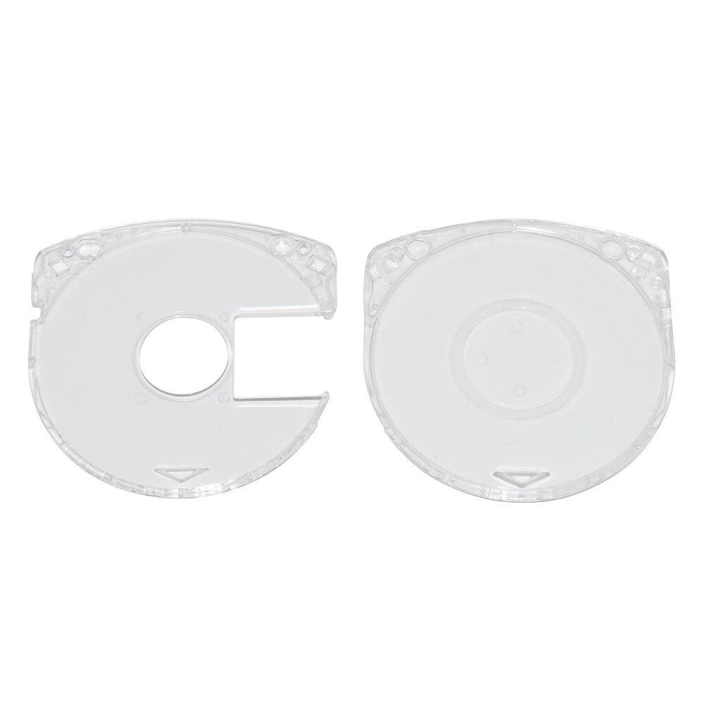 UMD-علبة تخزين لقرص ألعاب الفيديو ، شفافة كريستالية ، 500 قطعة ، لسوني PSP ، 1000 2000 3000