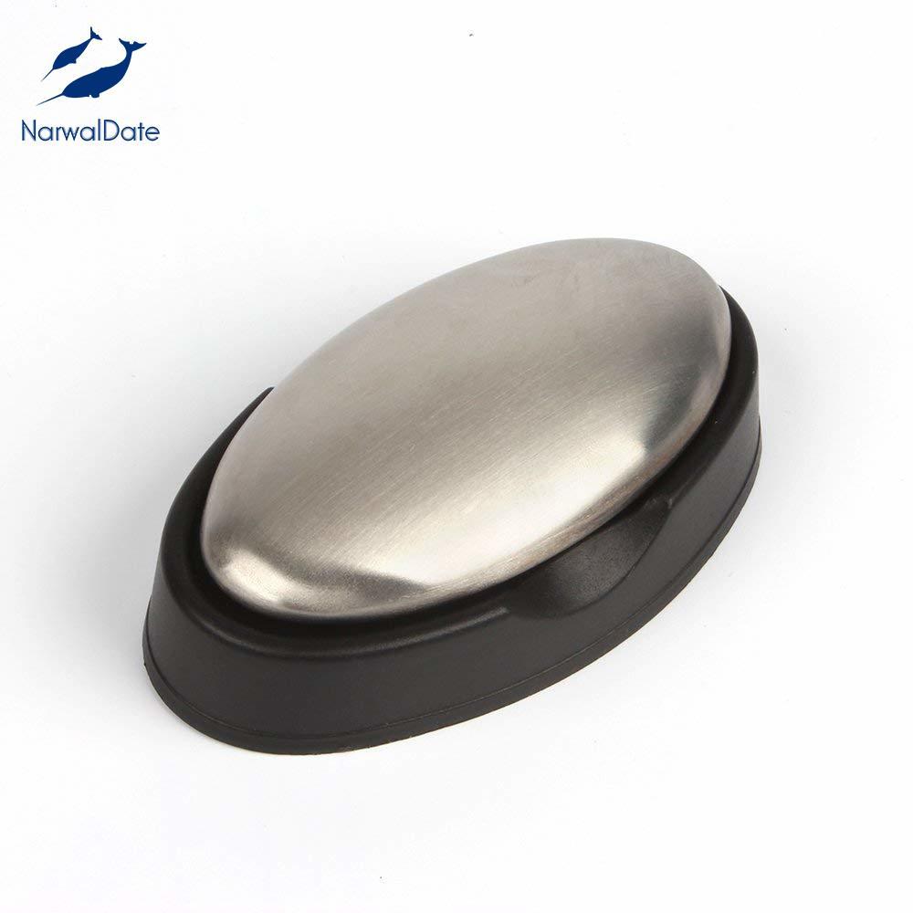 Jabón de acero inoxidable 304, removedor de olor mágico, accesorios de cocina, aparatos para eliminar la cebolla, ajo, pescado, olores de naturaleza pura