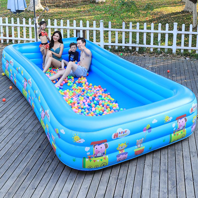 Bañera inflable para exteriores, gruesa, para el hogar, bañera extra grande para adultos, bañera para niños, cubo plegable para Baño