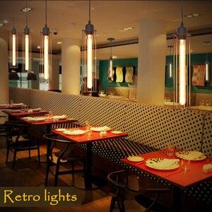 Retro Pendant Light E27 Vintage Industrial Loft Hanging Lamps Modern Living Dining Room Bar Decor Hanglamp Home Indoor Lighting