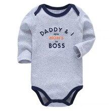 Ropa para bebé recién nacido Body de manga larga 100% algodón 3 6 9 12 18 24 meses ropa para bebés