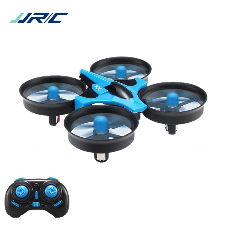 Mini Dron JJRC H36 RC, Micro cuadricóptero de 2,4G, 6 ejes con modo sin cabeza, de regreso con una sola tecla, helicóptero Vs H8