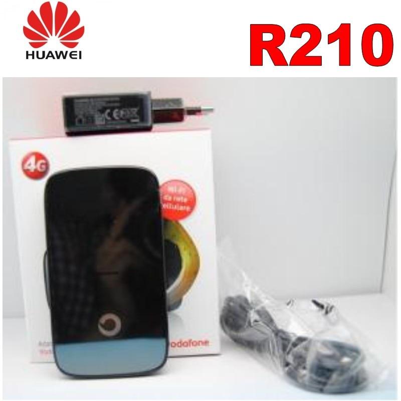 Original Unlock 100Mbps HUAWEI Vodafone R210 4G LTE FDD MiFi Hotspot Mobile WIFI router (twins as E589)