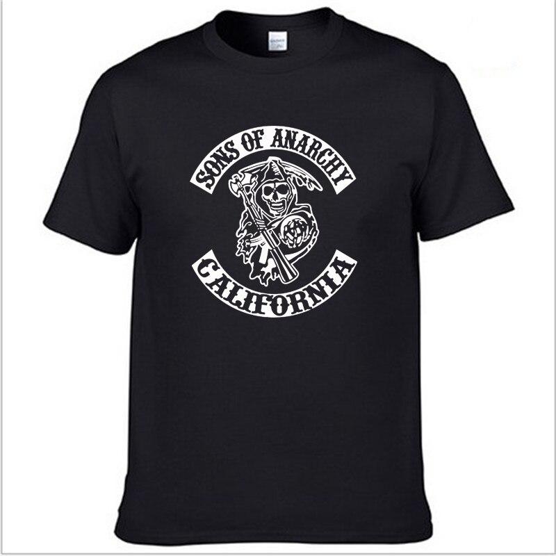 SOA Sons of anarchy-Camiseta con estampado de SAMCRO para hombre y mujer,...