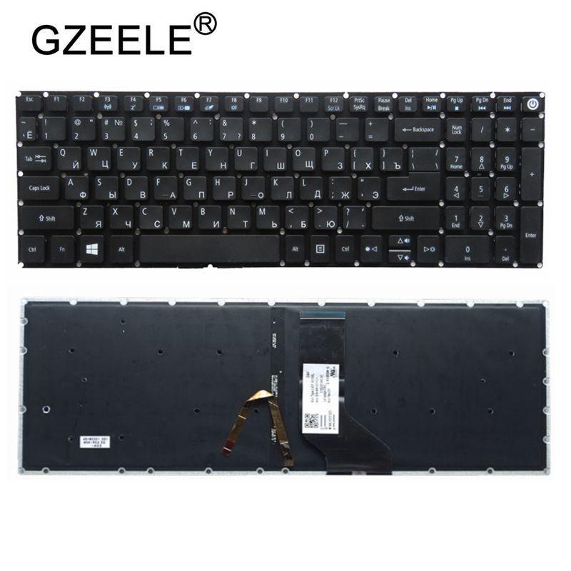 QH nueva RU teclado ruso para Acer Aspire VN7-572 VN7-572G VN7-572TG VN7-592G VN7-792G teclado de ordenador portátil negro con retroiluminación