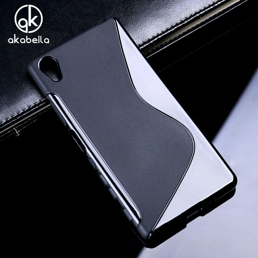 Силиконовый чехол AKABEILA для Sony Xperia L S36h/C4 Dual Cosmos/M Dual C1904 C2005/X Performance F8131/ X F5121