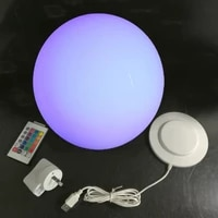 d30cm waterproof led ball outdoor led ball lamp glowing waterproof led sphere night light ball for christmas free shipping 1pc