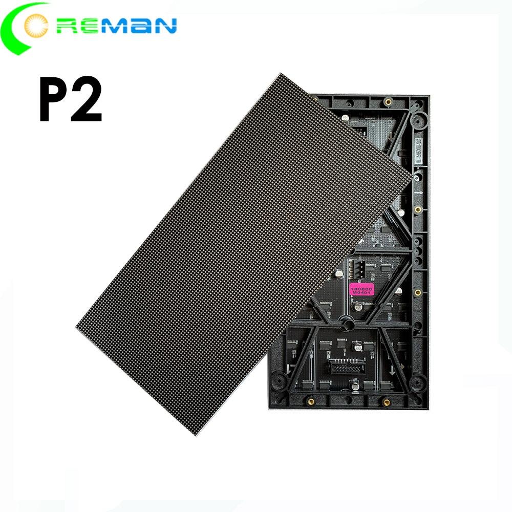 Высокое качество низкая цена P2 светодиодный модуль 256 мм x 128 мм, P2 HD led видео настенный светодиодный экран модуль 128x64 hub75 smd3in1