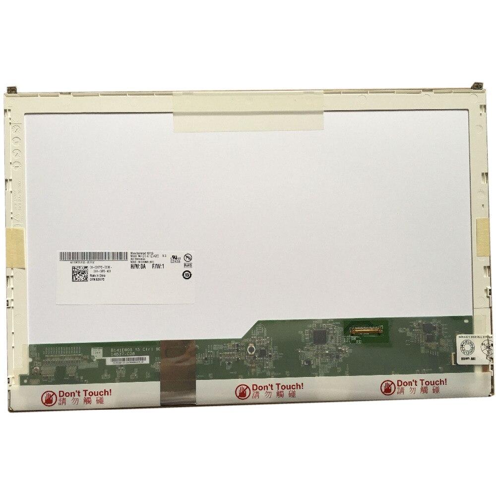 B141EW05 V.5 fit LP141WX5 TPP1 LTN141AT16 N141I6-D11 for DELL E6410 notbook EDP