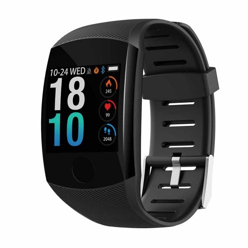 Q11 pulsera inteligente impermeable pulsera gran pantalla táctil OLED Mensaje de tiempo Smartband rastreador de actividad