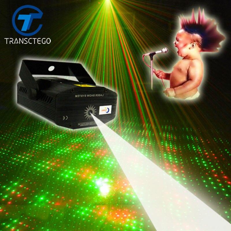 Светодиодный диско-светильник лазерный портативный акустический со звуковым управлением сценический светильник для бара сценический светильник KTV звездное небо диско ночное Лазерное освещение s