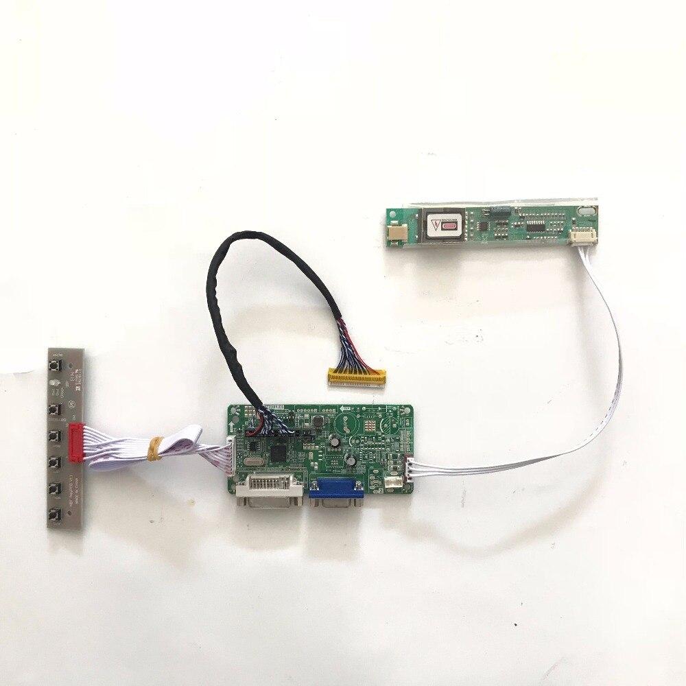 RT2281 Universal DVI VGA placa controladora LCD para 17,1 pulgadas 1400x900 LP171WP4 LVDS Monitor Kit para Raspberry Pi